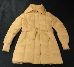 DOWN COAT by SUZY SHIER (SIZE S) --- BRAND NEW WITH TAGS!!
