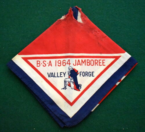 BOY SCOUT1964 NATIONAL JAMBOREE NECKERCHIEF