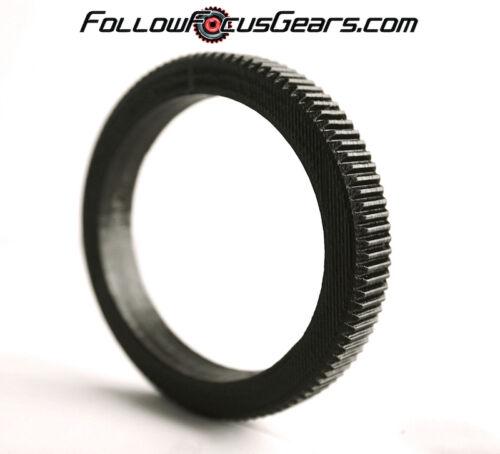 Seamless Follow Focus Gear for Carl Zeiss Jena 80mm f2.8 Biometar Zebra Lens
