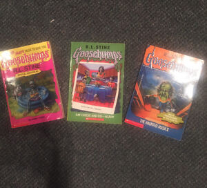 Huge collection of Goosebumps soft cover books