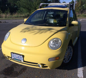 2005 Volkswagen Beetle Sunflower Yellow Fully Loaded One Owner