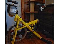 Trixter X-Bike Exercise Bike, fully adjustable saddle & handlebars, feels like a real bike