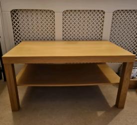 Ikea LACK Coffee table, oak effect