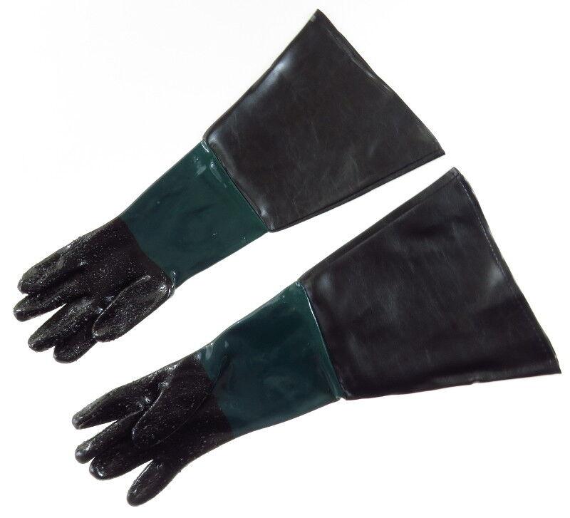 Sandstrahl Handschuhe Sandstrahlen Sandstrahlkabine Sandstrahlgerät