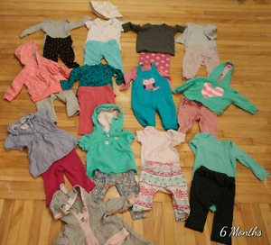 6 months girls clothes
