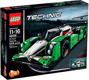 LEGO TECHNIC 42039 Hours Race Car. New/Sealed in mint retail box