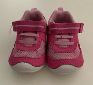 Baby stride rite shoes pink size 4