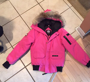 Canada Goose Jacket In Hot Pink size XL for girls