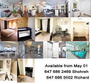 Apartment, Two bedrooms, two bathrooms in Richmond Hill for rent