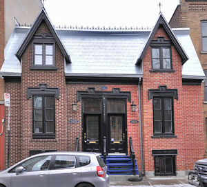 BEAUTIFUL TOWNHOUSE, 5 BEDROOMS, 2 BATHROOMS, 8 MIN FROM MCGILL