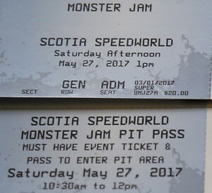 Monster Jam Halifax Tickets