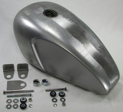 vintage cafe racer gas tank custom mounting kit harley triumph bsa