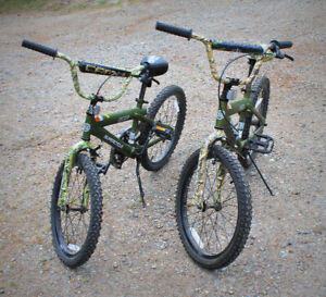 Camo Boy's Bicycles