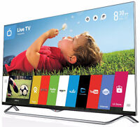 """49"""" LG 4K UHD Smart Tv Brand New Can Deliver"""