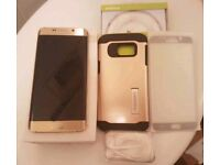 Samsung Galaxy s6 Edge Plus Gold 32gb EE