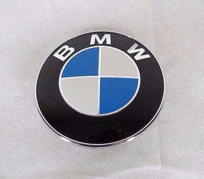 BMW GENUINE OEM EMBLEM 1 3 5 6 7 SERIES HOOD/TRUNK BADGE round logo sign symbol