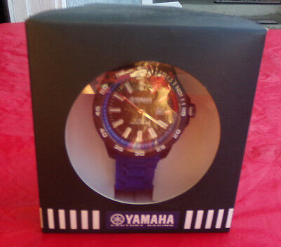 YAMAHA FACTORY RACING WATCH FROM TW STEEL IN BLUE GCR-14WFR-BL-45