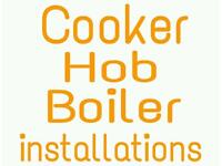 COOKER, HOB & BOILER INSTALLATION. GAS ENGINEER. GAS FITTER
