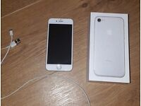 White iPhone7 02 for sale. Not a scratch to be seen, brand new