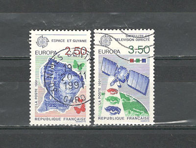 2575 Serie (R2575 - FRANCIA 1991 - SERIE COMPLETA EUROPA - VEDI FOTO)