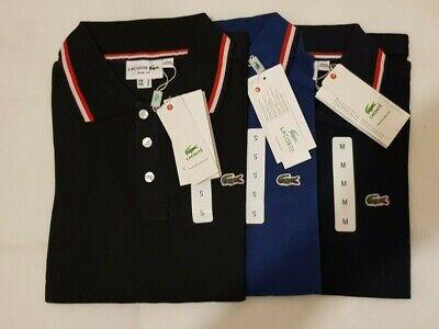 Lacoste 100% Cotton Half Sleeve  Men's Polo Shirt