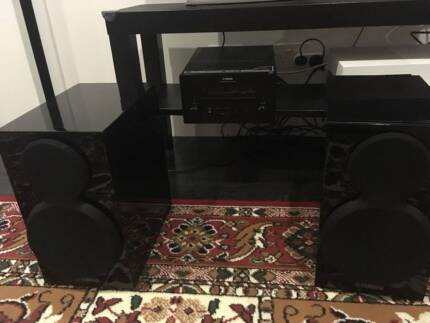 Yamaha mini hi-fi system - CRX-550 receiver and NS-BP300 speakers