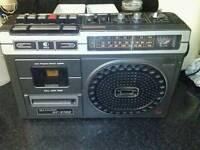 Vintage Radio cassette player's