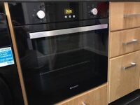 New Style Hotpoint Elegance Built In Fan Oven/Grill 1 Year Old Hardly Used Could Deliver/Install