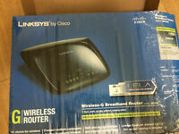 Linksys/Cisco Wireless / WiFi G Broadband Router Model WRT54G2 **almost new condition**