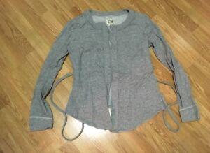 Converse One Atar Womens Sweatshirt-gray- Xl-Gently Used
