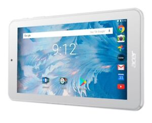"""Acer Iconia One 7"""" 16GB Android 7.0 Tablet wihite"""
