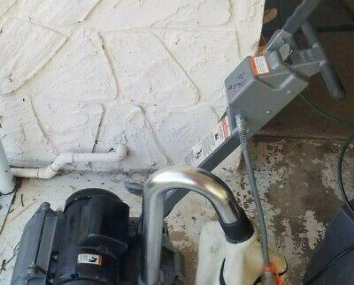 Clarke Ez-8 8 Electric Refinishing Floor Drum Sander American Sanders 385