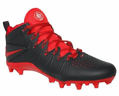 various colors 93796 86679 Nike Huarache 4 LAX LE LaCrosse Cleats Man US 9.5 Anthracite Red 616296-060  NEW