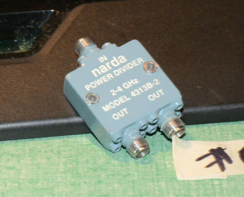 NARDA 4313B-2  2-4GHZ POWER DIVIDER RF5