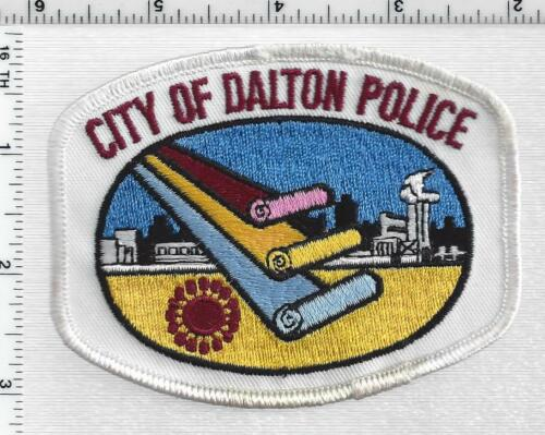 City of Dalton Police (Georgia) 3rd Issue Shoulder Patch