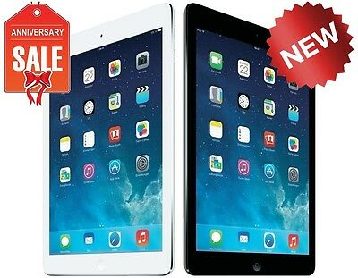 NEW Apple iPad Air 1st Gen 32GB WiFi 9.7in Retina Space Gray Black White Silver ()