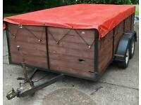 Large Twin Axle Trailer 11ft x 6ft x 3ft