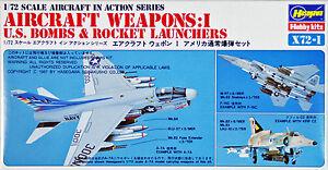 Hasegawa-X72-1-AIRCRAFT-WEAPONS-I-U-S-BOMBS-1-72-scale-kit
