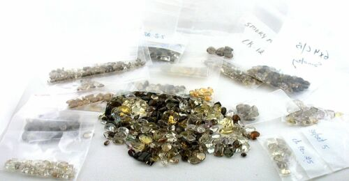 369 Carats Assorted Faceted Mixed Gemstone Shapes Sizes CLOSEOUT BELOW COST!