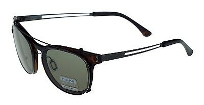 Serengeti Sunglasses Enzo with Clip-On Polarized 8083