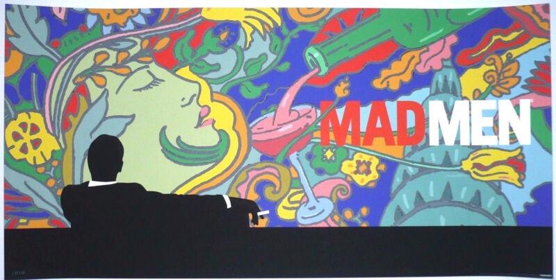 15 MAD MEN AMC OFFICIAL GICLEE ART PRINT MOVIE POSTER #/350 MILTON GLASER MONDO