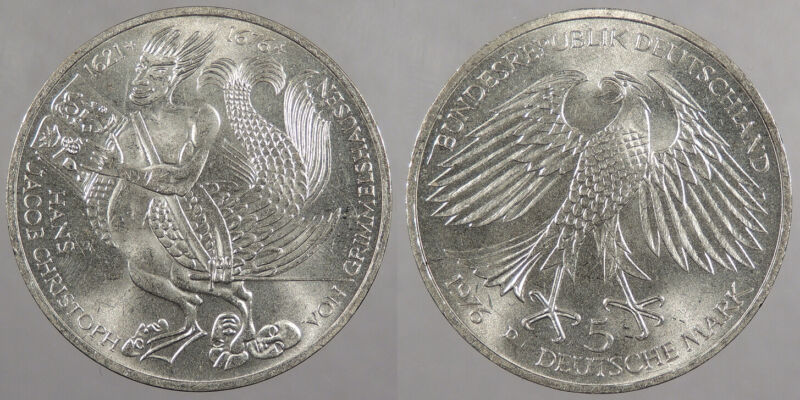 GERMANY (WEST): 1976-D 5 Mark #WC79014