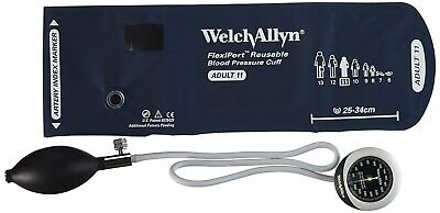 Welch Allyn Ds45-11 Gauge With Durable One Piece Adult Cuff