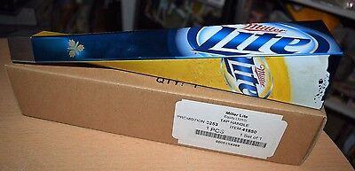 "Miller Lite Beer Tap Handle Tapper Knob 11.5"" NEW IN BOX"