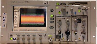 Agilent Infiniium W-bandwidth Oscilloscope 86100a Woption 001 Main Frame Only