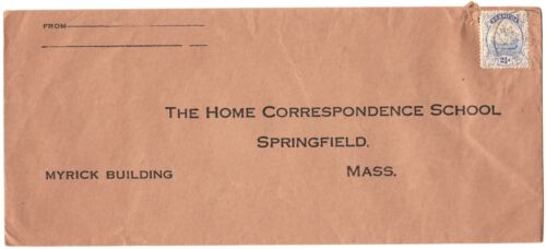 Cover, Hamilton, Bermuda to Massachusetts, 1931, with Scott #44