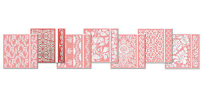 Cuttlebug Embossing Folder & Border 4x6  by Anna Griffin- - GREAT PRICE!!!