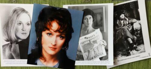 """MERYL STREEP"" Three Time OSCAR winner - movie photo stills"