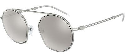 Gafas de Sol Emporio Armani EA 2078 Silver/Silver 50/19/140 para hombre