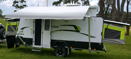 Awning carefree brand new  in box suit jayco 16 .49 outback